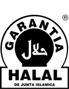 halal guarantee  stamp transparente